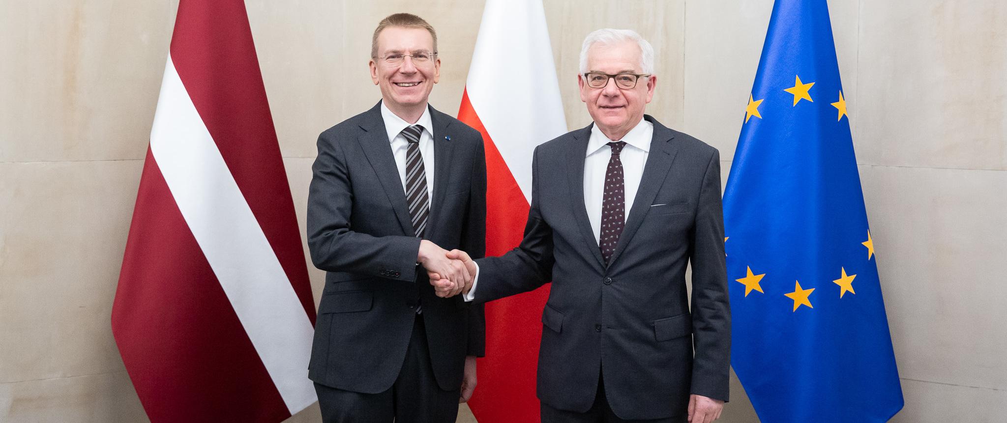 Wizyta ministra SZ Lotwy