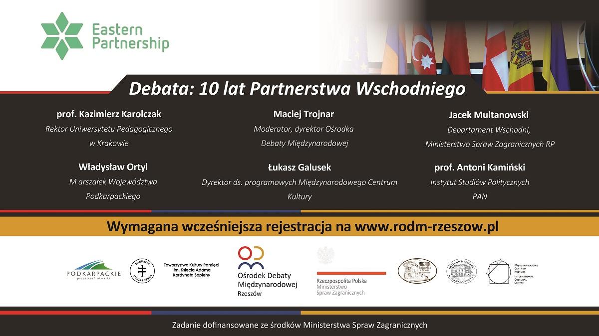 www wydarzenie 10 lat partnerstwa wschodniego