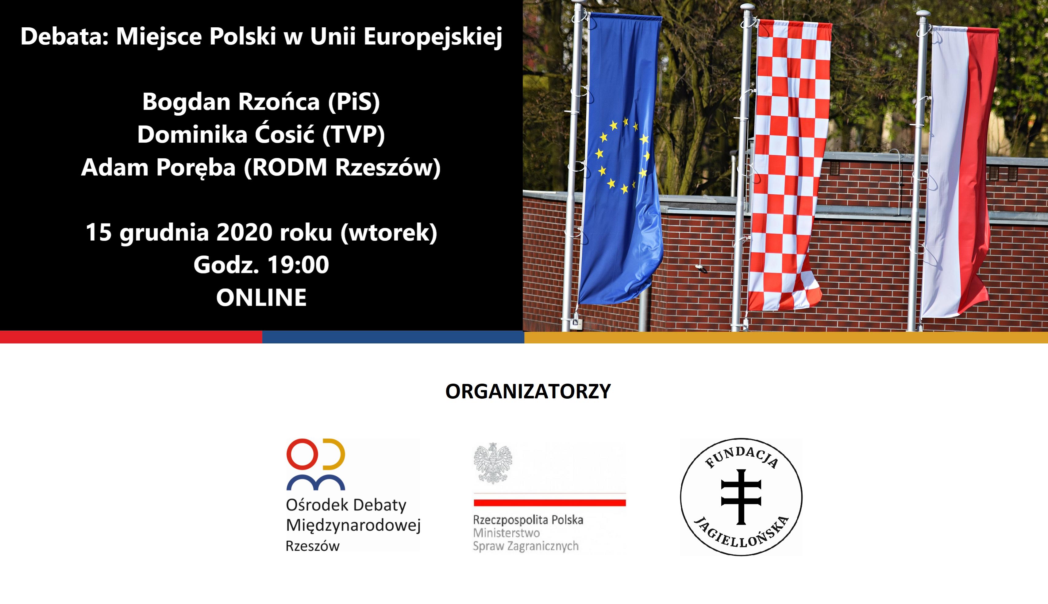 Debata – Miejsce Polski w Unii Europejskiej