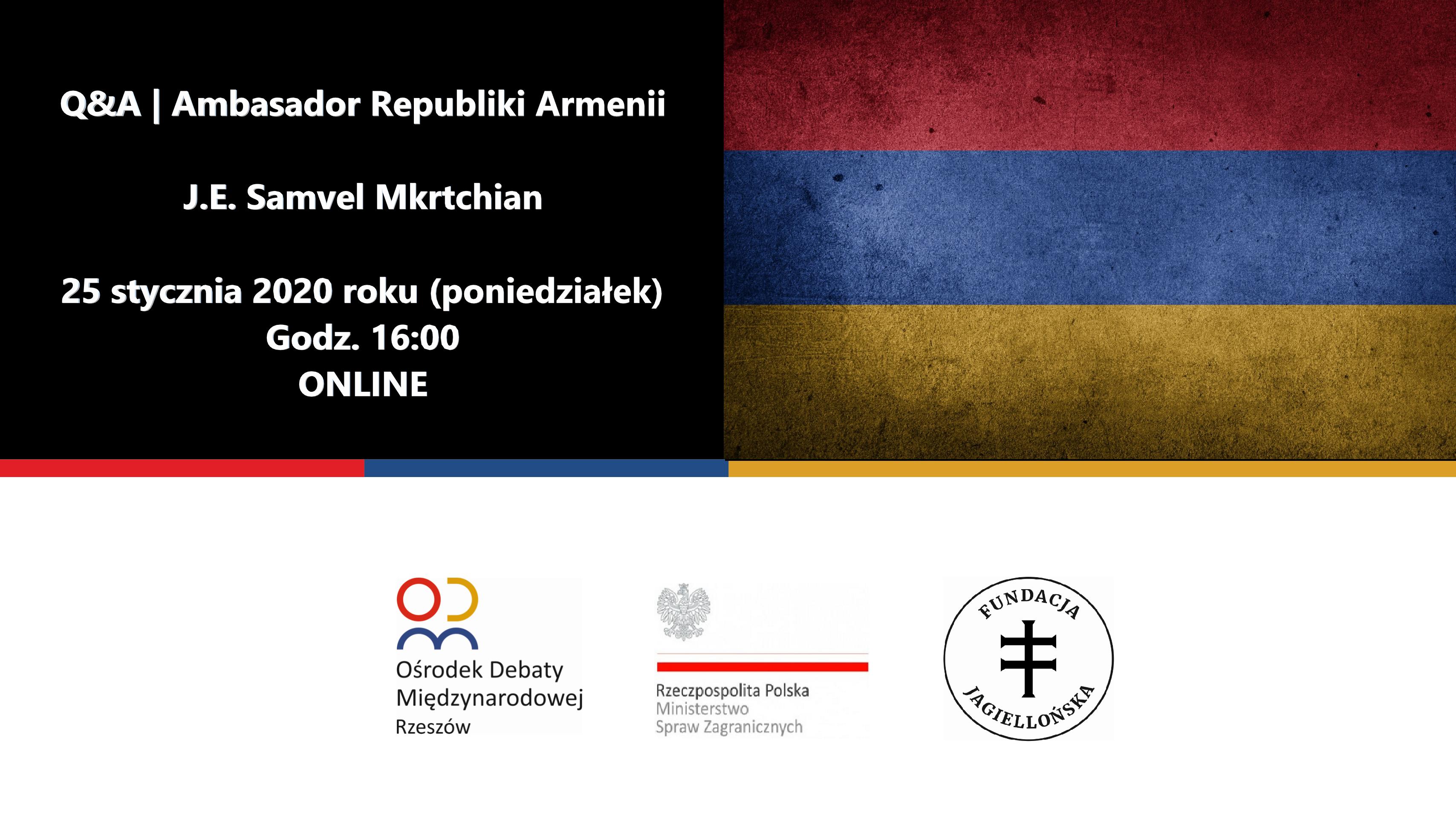 Amabasadro Armenii